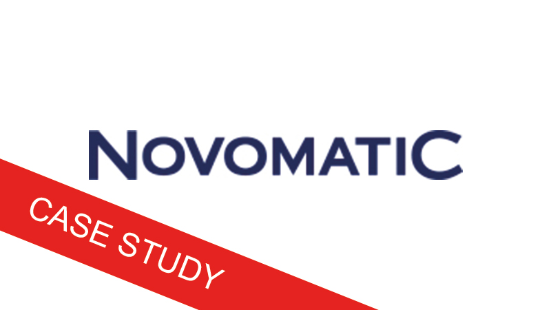 Digitaltest Novomatic Case Study